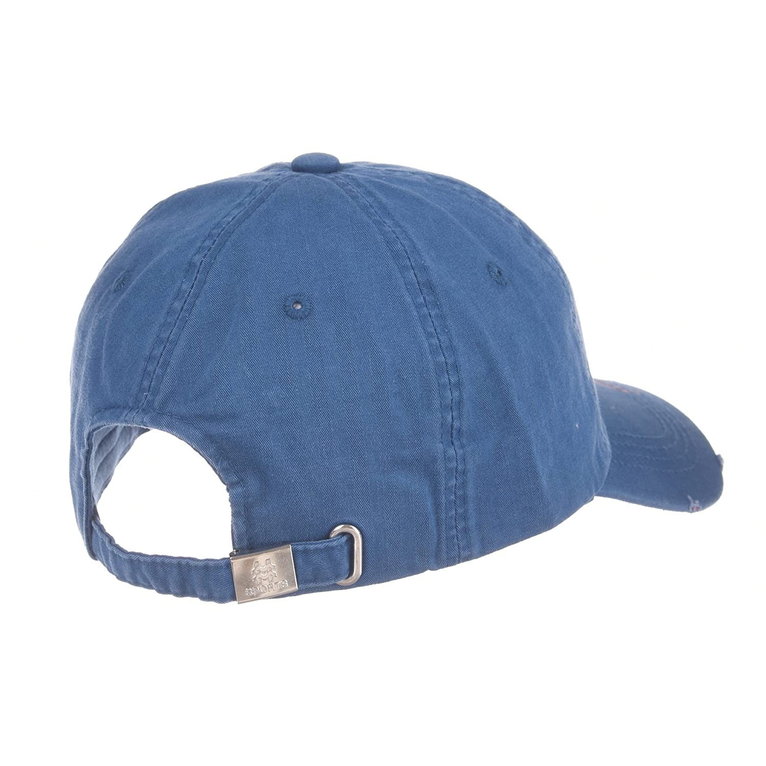 WITHMOONS American Flag Vintage Distressed Patch Baseball Cap Adjustable CR1090 (Blue) at Amazon Mens Clothing store: