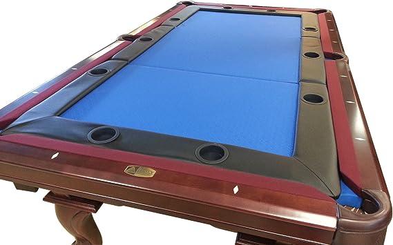 Mrc Poker Mesa de póquer Tops para Mesa de Billar Ajuste estándar 8 pies Mesa de Billar: Amazon.es: Deportes y aire libre