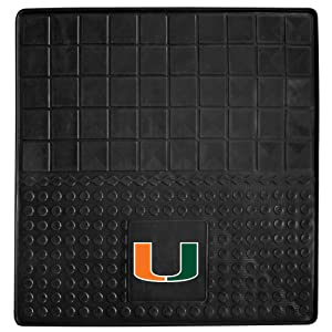 FANMATS NCAA University of Miami Hurricanes Vinyl Cargo Mat