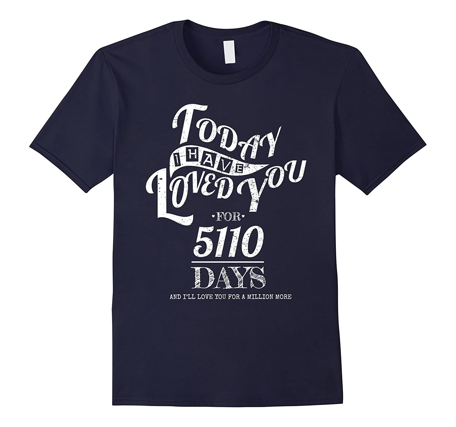 14th Wedding Anniversary T-Shirt Funny For Married In 2003 T-Art