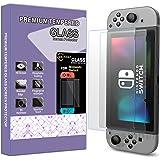 [2-Pack] Jasinber Mica de Vidrio Cristal Templado para Nintendo Switch