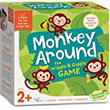 Peaceable Kingdom Monkey Around Time for Two - A Game for You and Your Two Year Old