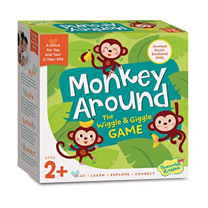 Amazon Peaceable Kingdom Monkey Around Time For Two A Game