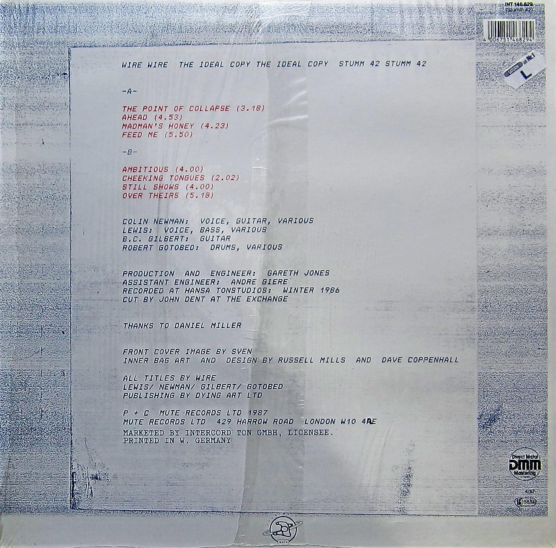 Wire - Wire - The Ideal Copy - Mute - INT 146.829, Mute - STUMM 42 ...