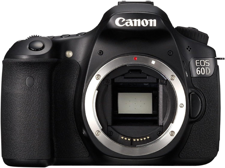 Canon EOS 60D - Cámara Réflex Digital 18 MP (Cuerpo ...