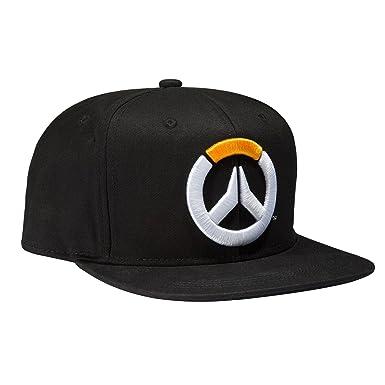 Amazon.com  JINX Overwatch Frenetic Snapback Baseball Hat (Black ... b8aff673fb32