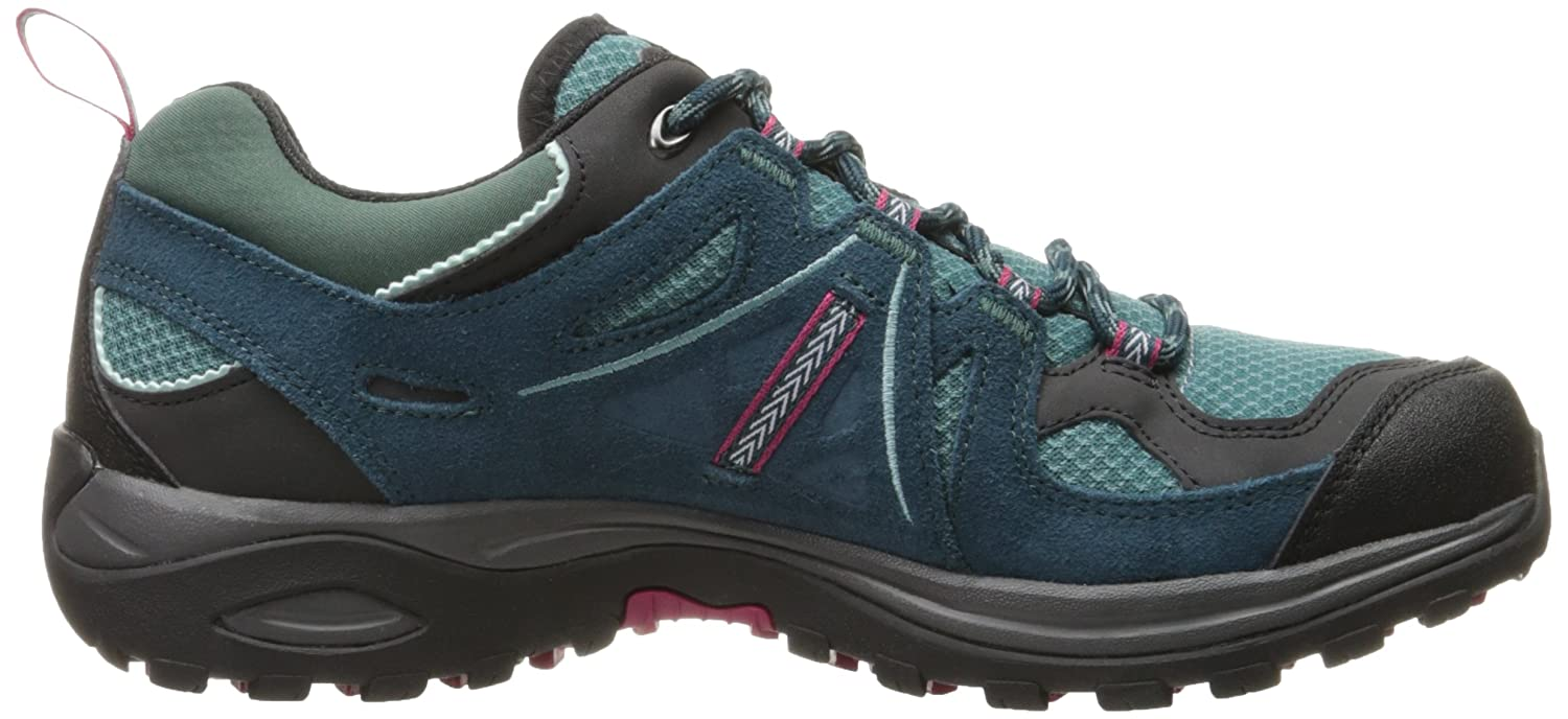 Salomon Damen Ellipse 2 Aero W Hiking-und Multifunktionsschuhe, Blau (Artic/Reflecting Pond/Sangria), 42 EU