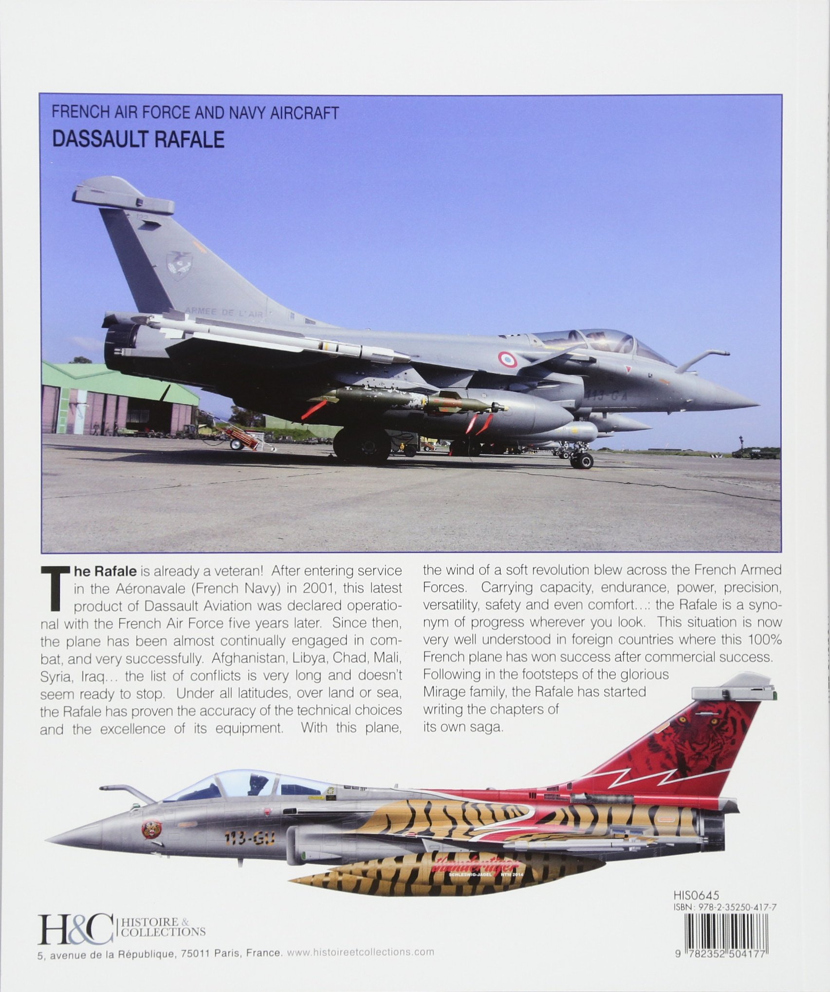 Dassault Rafale (French Air Force and Navy Aircraft
