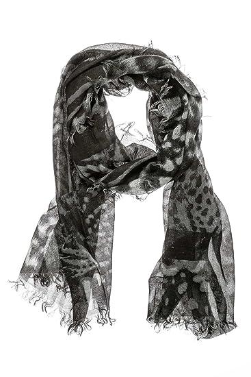 Diesel Foulard, Couleur  Anthracite, Taille  One Size  Amazon.fr  Vêtements  et accessoires 36645ee612e