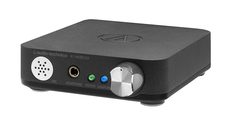 audio-technica USBヘッドホンアンプ ハイレゾ音源対応 AT-HA90USB B00FWGTUM6