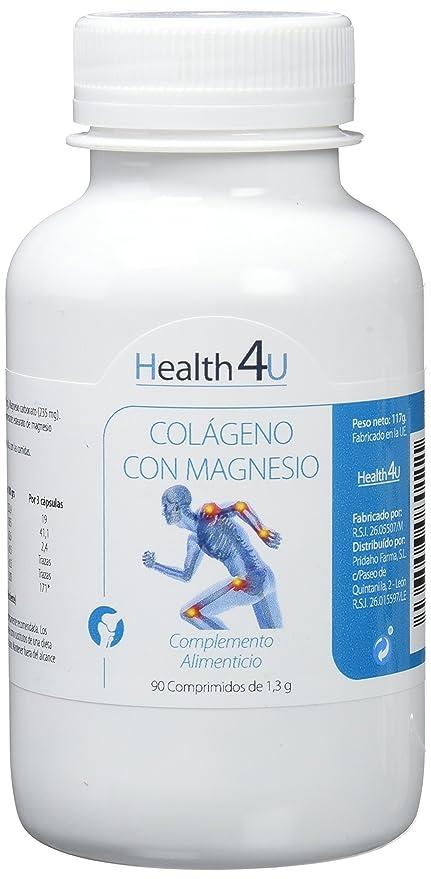 H4U Colágeno con Magnesio - 2 Paquetes de 90 Cápsulas
