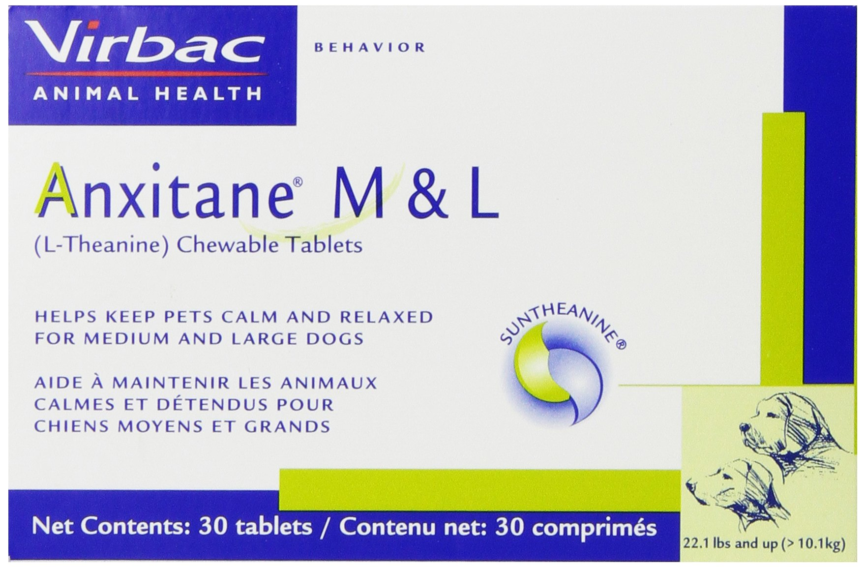 Virbac Anxitane Tablets Under 22 lb