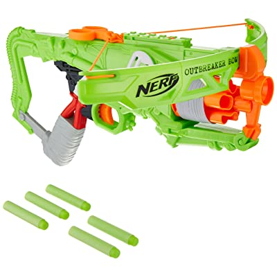 NERF Zombie Strike Outbreaker Bow: Toys & Games