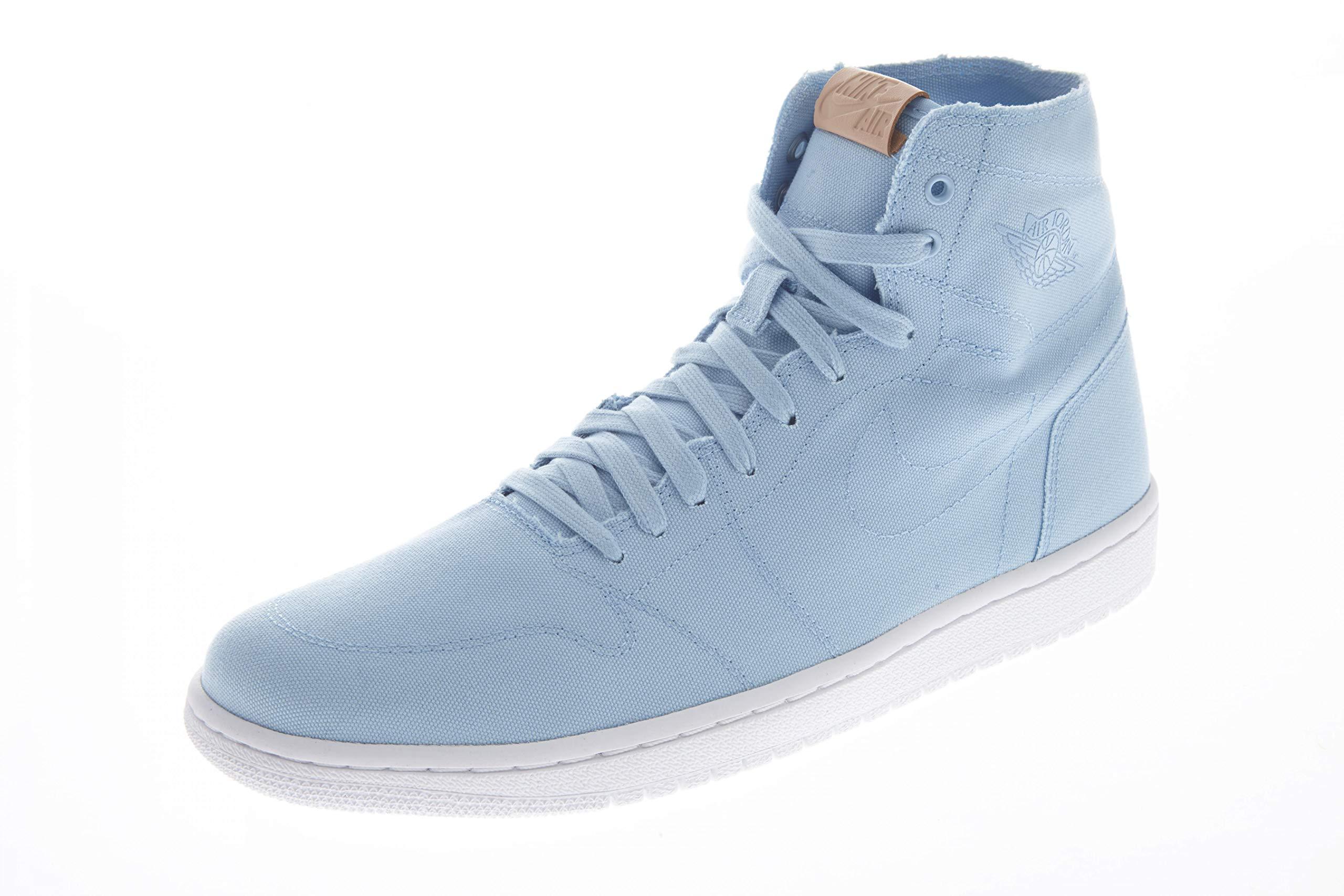 7d536a1bfeef Galleon - Air Jordan 1 Retro High Decon Men s Shoes Ice Blue White Vachetta  Tan 867338-425 (9 D(M) US)