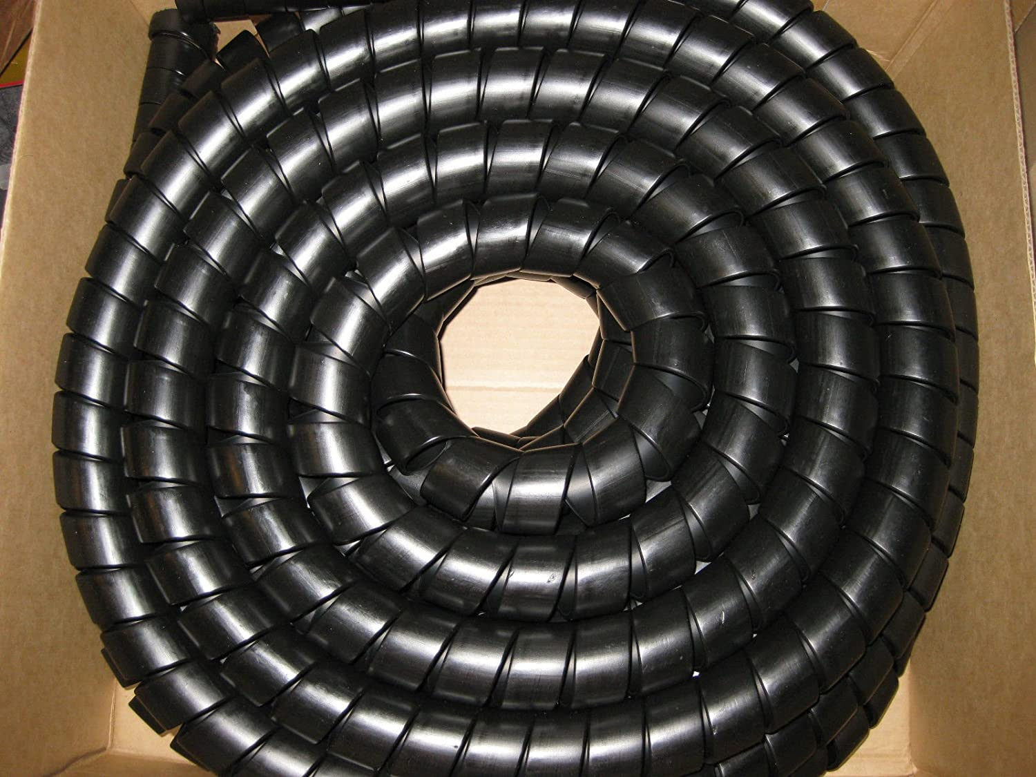 1 meter Hydraulic Hose Spiral Wrap Guard Potection 36-45mm JCB Forestry Tractor digger