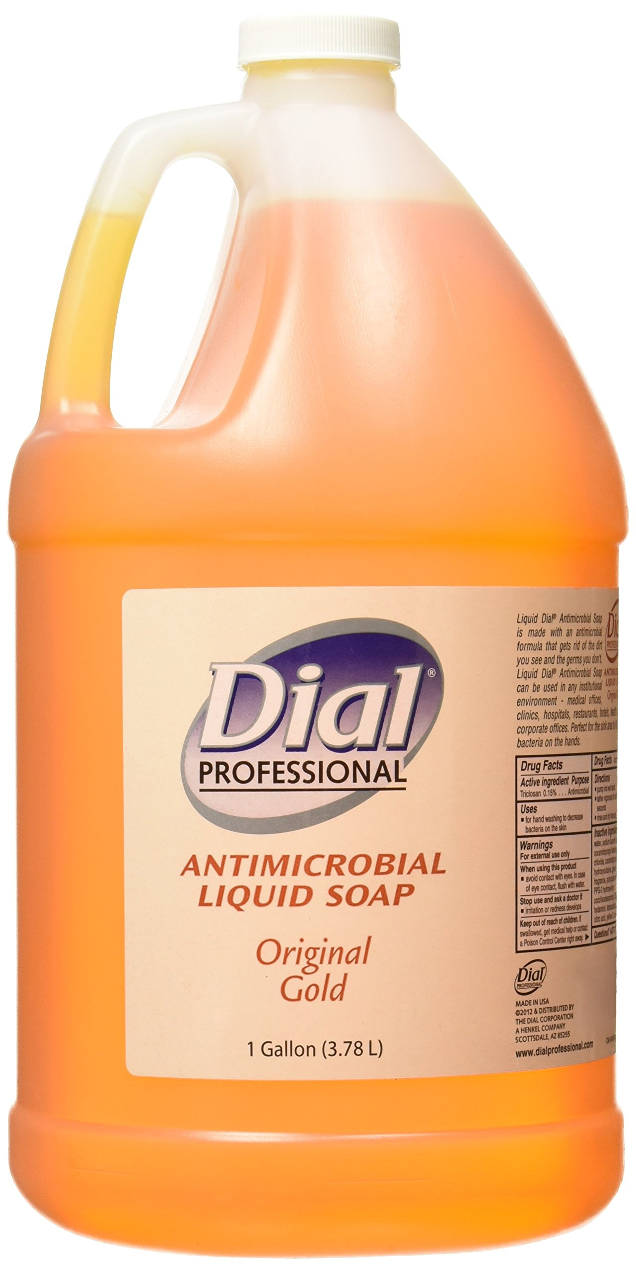 Dial Corporation 88047 Dial Liquid Gold Antimicrobial Soap, 1 gal by Dial Corporation