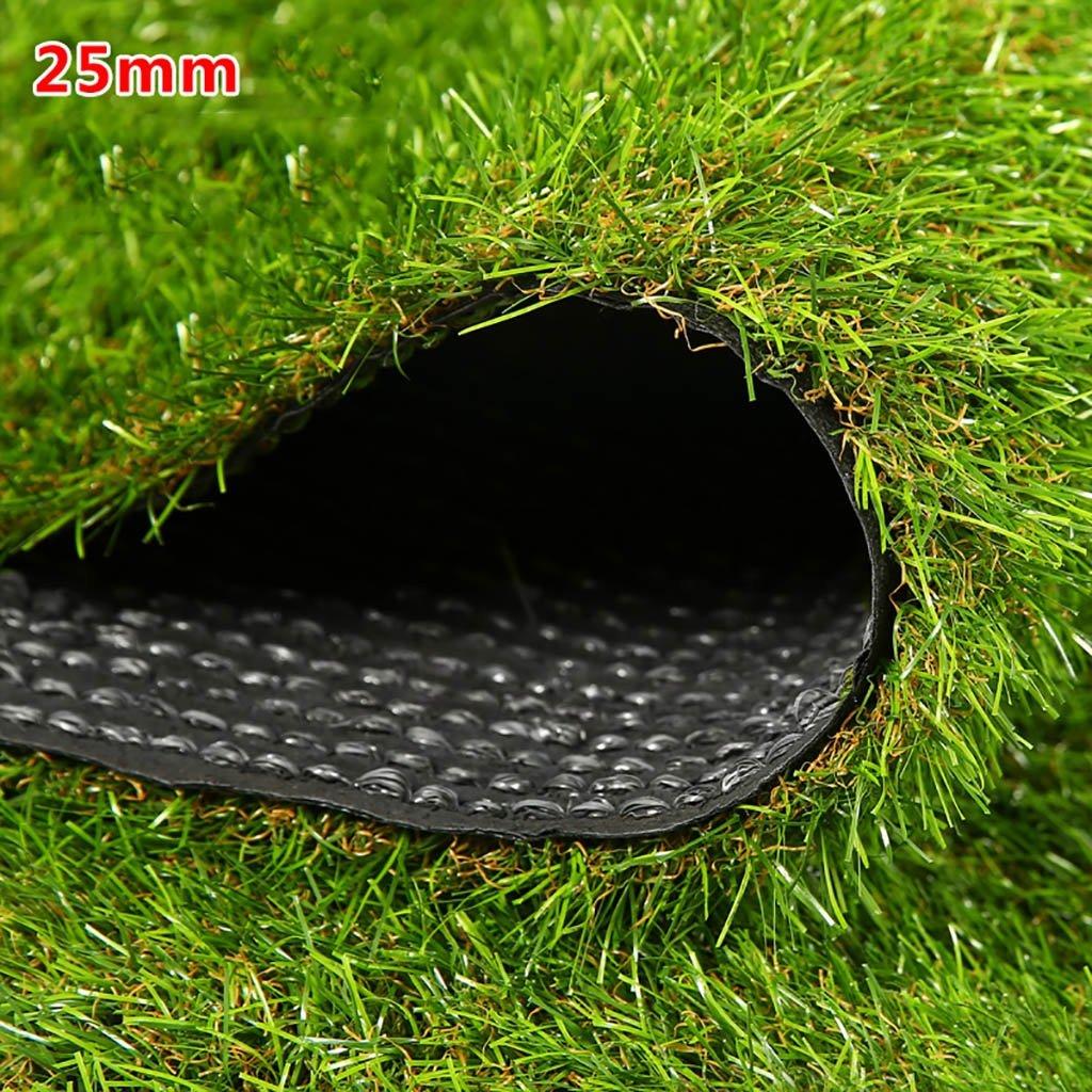 WENZHE 人工芝芝生 ガーデンターフ 人工芝高密度格安3色、幅2メートル、厚さ4種類 ( 色 : G g , サイズ さいず : 2*2m ) B076Z6J25R 12367 2*2m|G g G g 2*2m