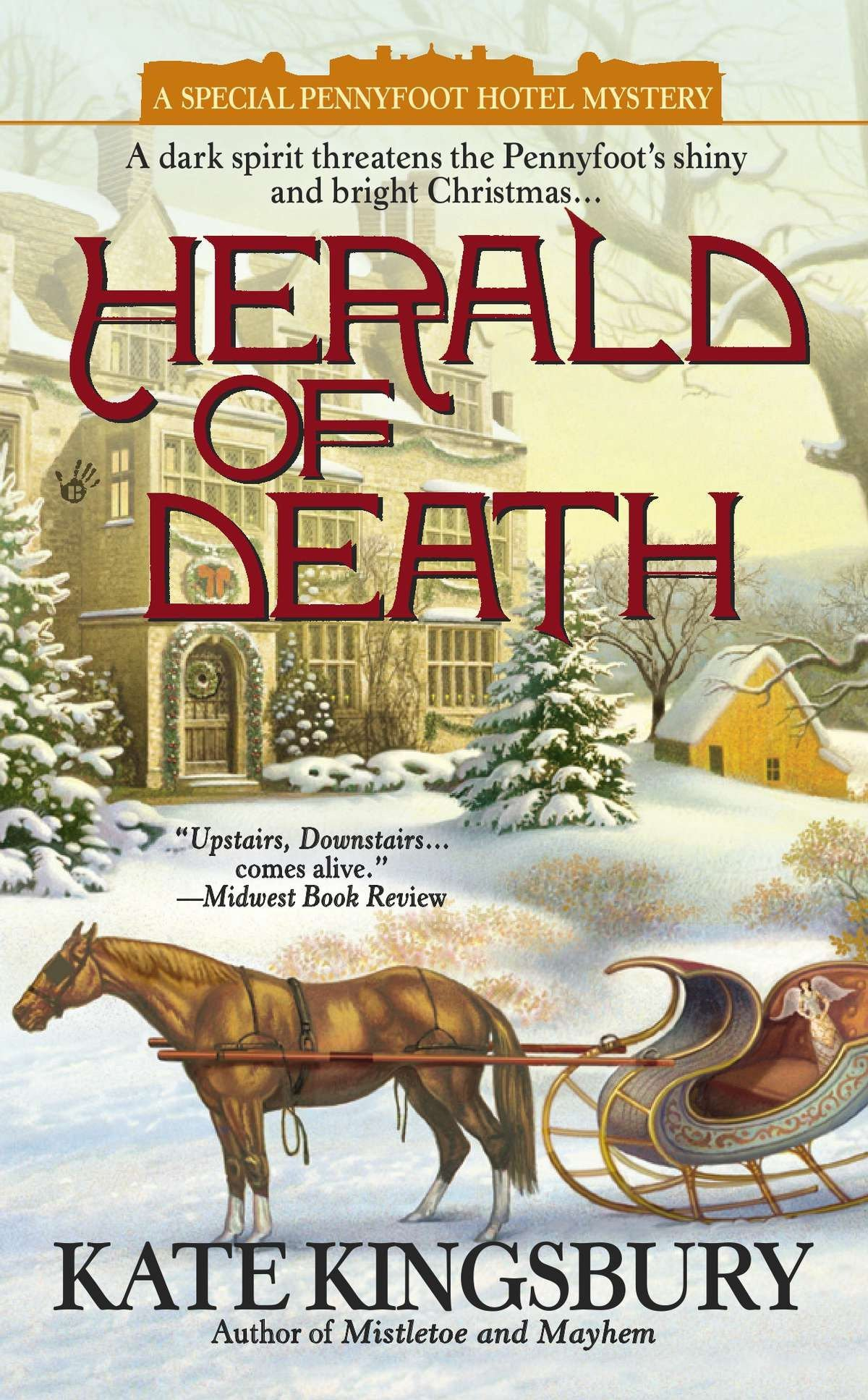 Herald of Death (A Special Pennyfoot Hotel Myst) PDF