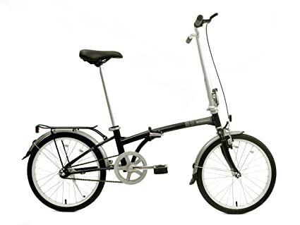 Dahon Boardwalk Folding Bike, Obsidian