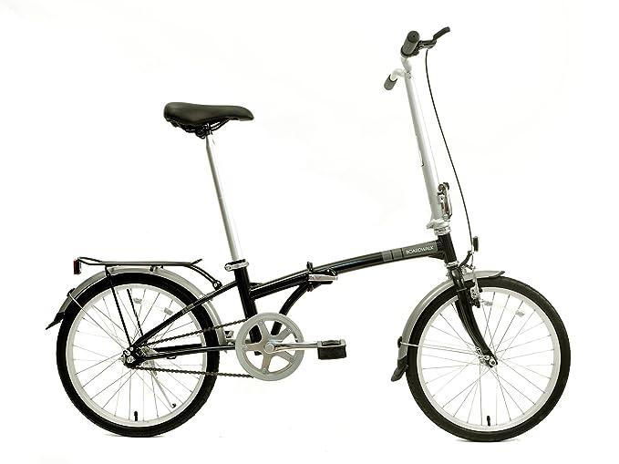 Amazon Com Dahon Boardwalk Folding Bike Obsidian Folding