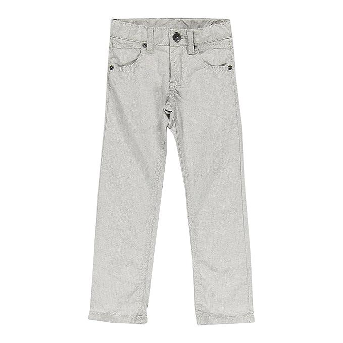 6c3725ef10 Brums - Pantalone Micro Fantasia, Pantaloni da Bambino, Grigio Chiaro 06,  4A: Amazon.it: Abbigliamento