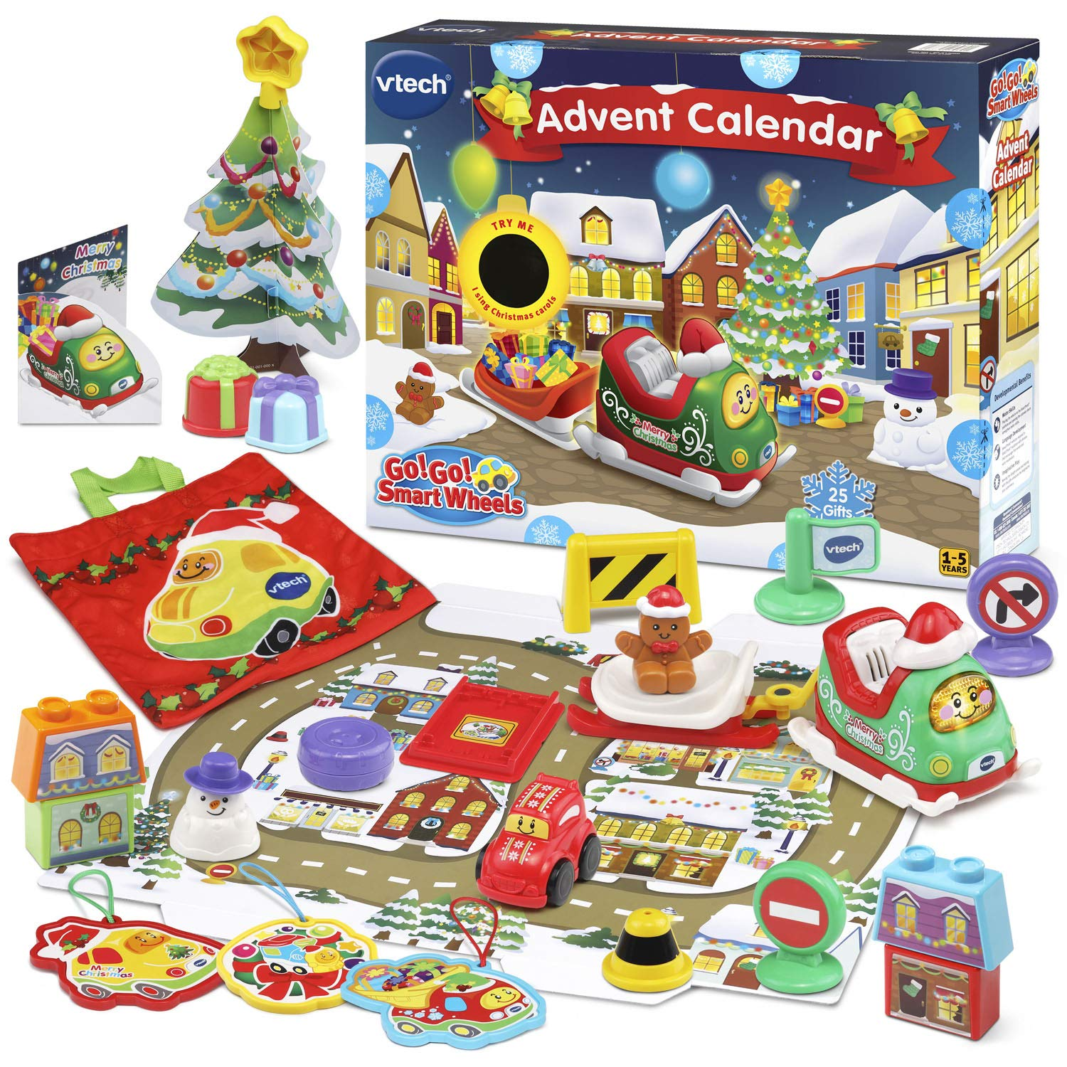 VTech Go! Go! Smart Wheels Advent Calendar 2018  Exclusive 80-513060