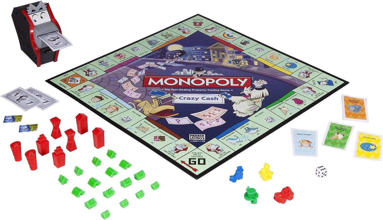 Monopoly Crazy Cash by Monopoly: Amazon.es: Juguetes y juegos