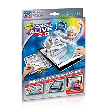 Crayola Disney Color Alive 20 Frozen Book