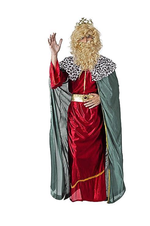 Costumizate! Disfraz de Rey Rojo con Tunica Verde Mago para ...