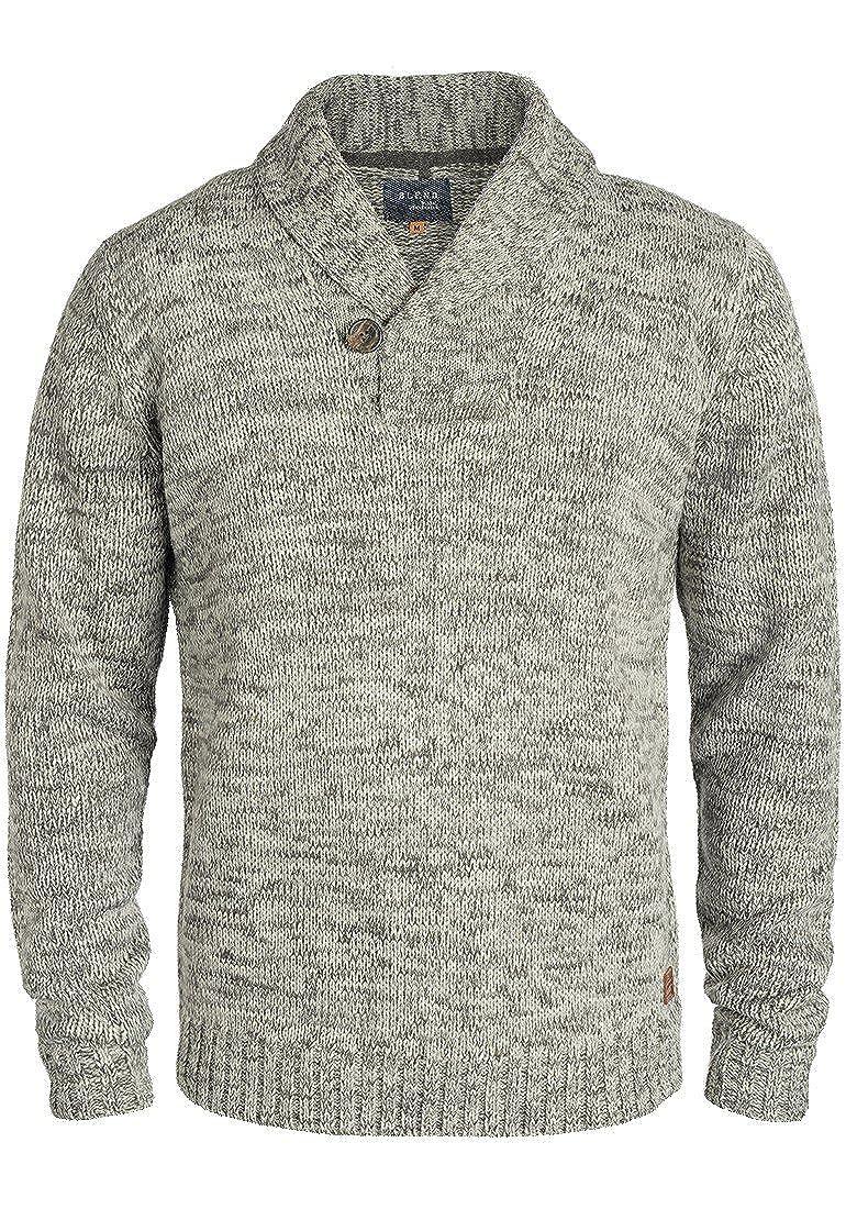 Blend Takuto Herren Pullover Pullover Pullover Strickpullover Grobstrick Pullover mit Schalkragen B01M0BUGOQ Pullover Schönheit fängt hier an 20b405