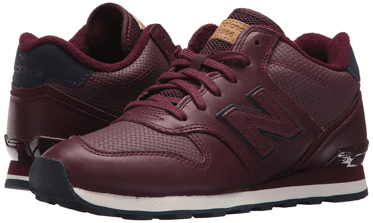 New Balance Women's 696 V1 Sneaker B01N3C1NZI 9.5 B(M) US|Chocolate Cherry