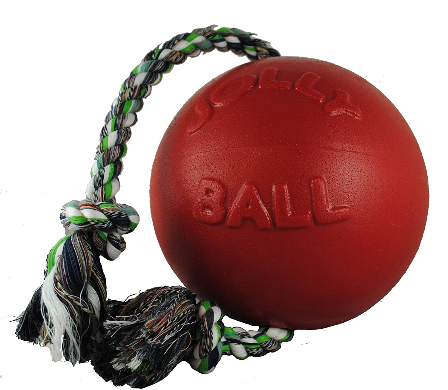 Jolly Pets 8-Inch Romp-n-Roll, Red