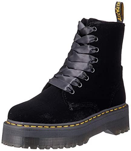sulle immagini di piedi di dove acquistare di prim'ordine Dr. Martens 15265001 Jadon Polished Smooth, Scarpe Stringate Basse ...