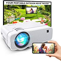 Bomaker Ultra Portable WiFi Mini Projector Compatible with TV Stick, PS4, DVD Players, iPhone, Android, Windows