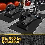 Floordirekt - Esterilla de protección para el Suelo para aparatos de Fitness, Antideslizante, amortigua el Ruido…