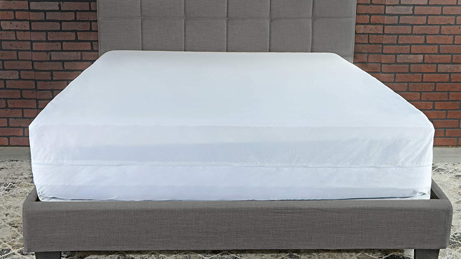Steve Silver Co Queen 12 Mattress Encasement White