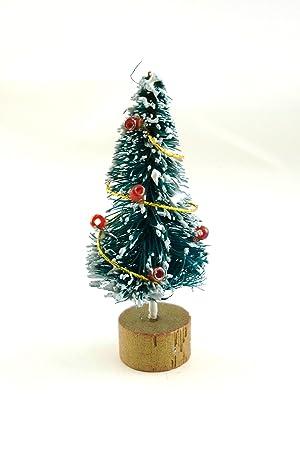dolls house miniature christmas accessory mini xmas tree 5040