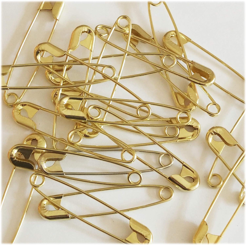 2pcs Gold Safety Pins 10cm Large Shawl Pins shawl pins Metal Pins Brooch Pins Laundry Pins Kilt Pin Back Jumbo Horse Blanket Pins