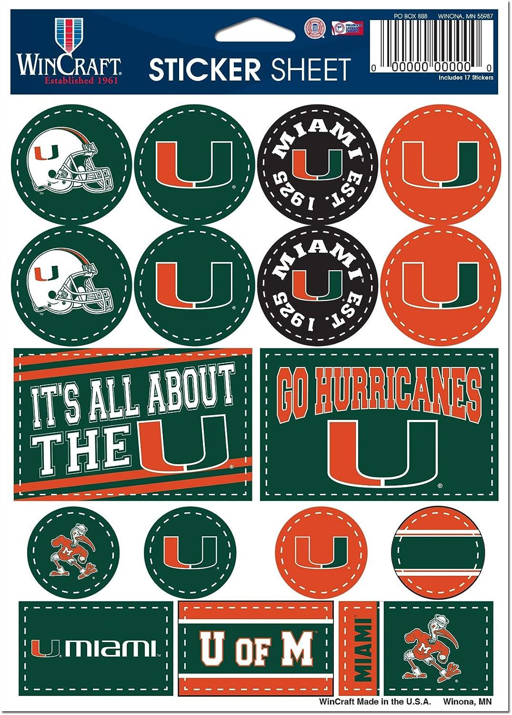 WinCraft NCAA University Miami Hurricanes 5