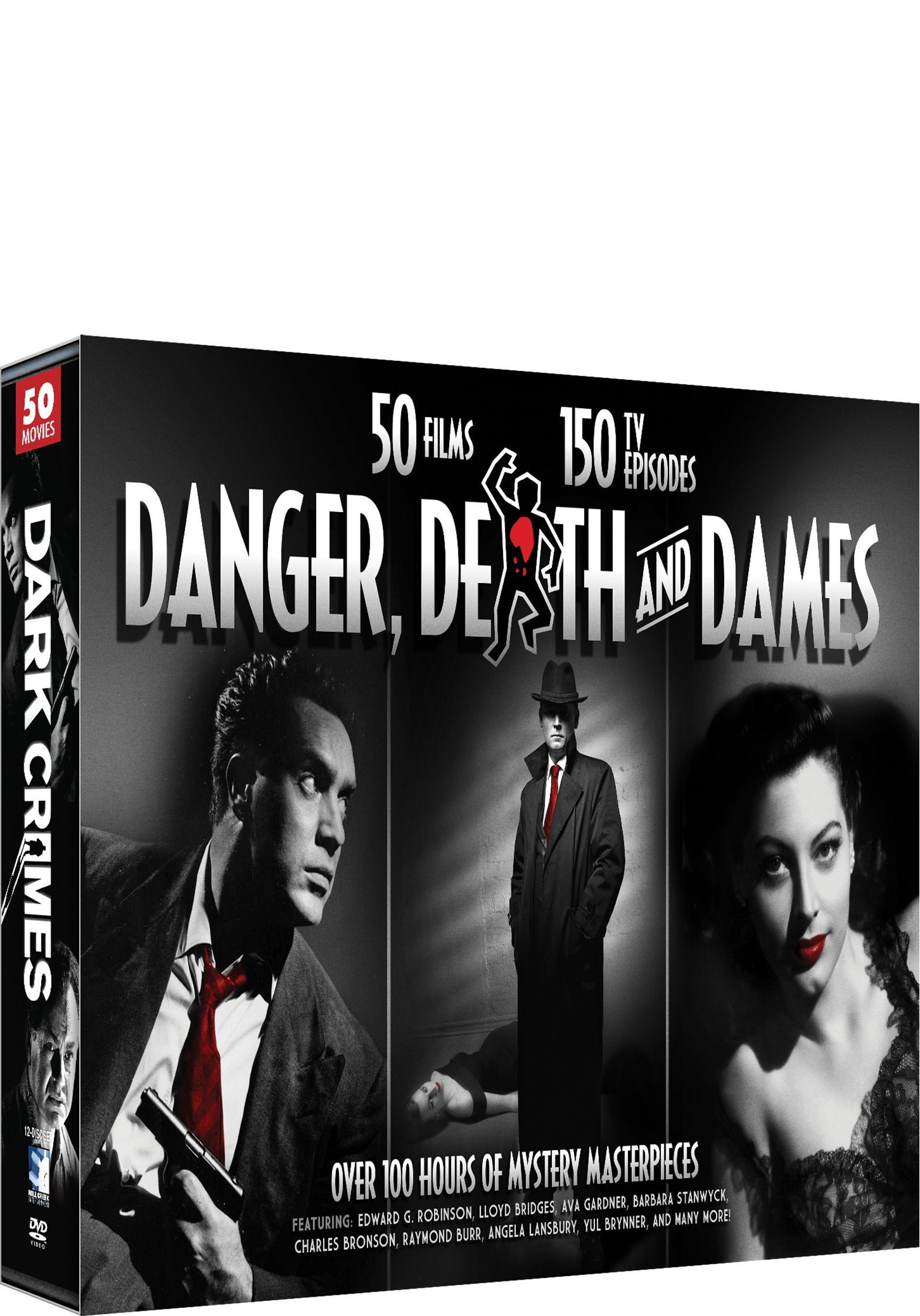 Danger, Death, and Dames - Film & TV Crime Dramas
