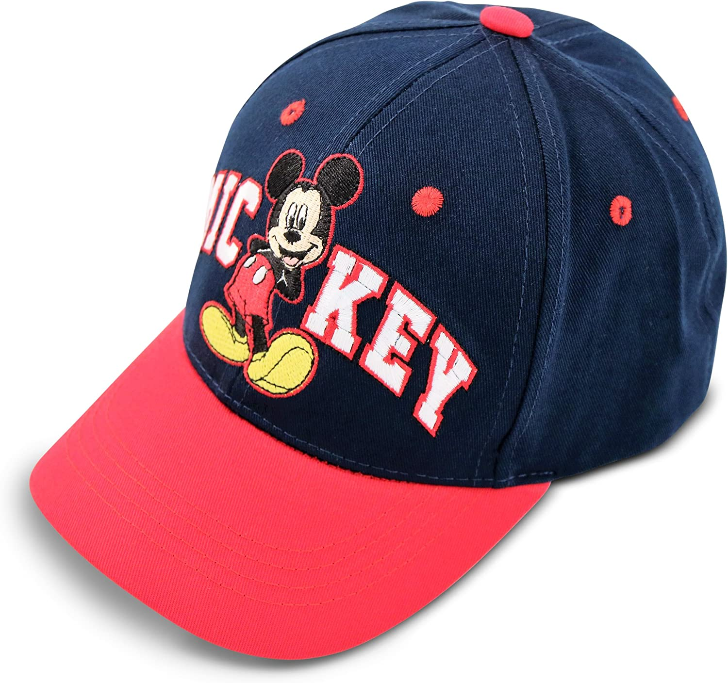 Disney Kids Hat for Toddler Or Little Boys Ages 2-7 Mickey Mouse Baseball Cap