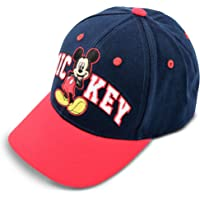 Disney Toddler Hat for Boy's Ages 2-7, Mickey Mouse Kids Baseball Cap