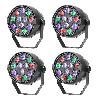Tsss Faro Proiettore Con Led Rgbw Mix Di Luce Colorata Ideale