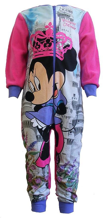 a basso prezzo 60083 b212b Disney Minnie Mouse - Pigiama Intero Manica Lunga in Pile ...