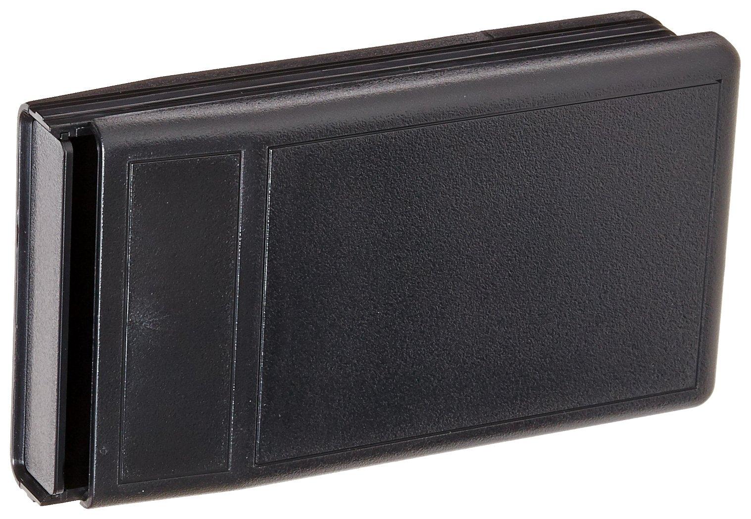Serpac M6 ABS Plastic Enclosure, 4-5/32'' Length x 2-13/32'' Width x 0.85'' Height, Black