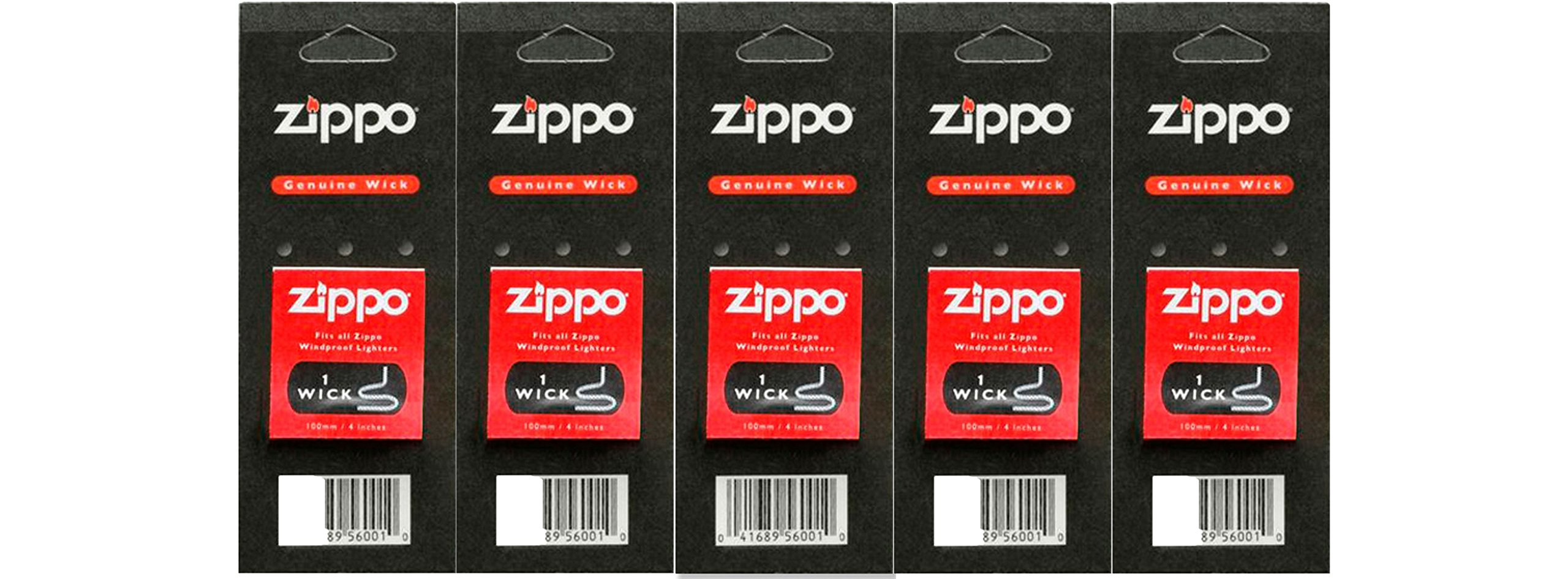 5 Zippo Wicks