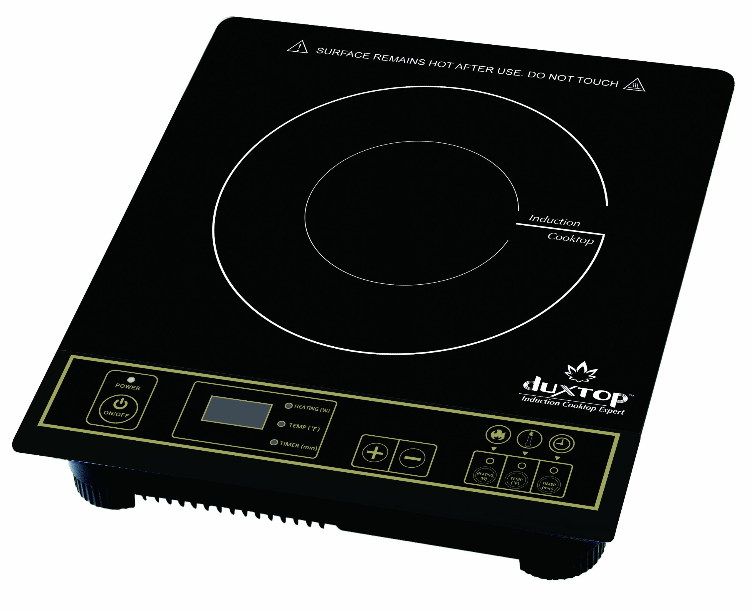 Duxtop 8100MC 1800W Portable Induction Cooktop Countertop Burner, Gold