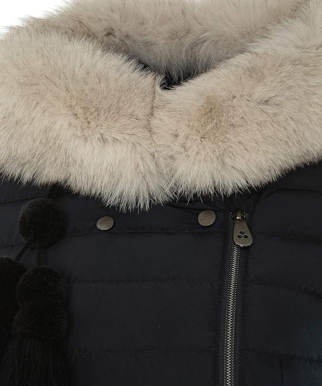c36de99fcbf273 Peuterey SERIOLA 02 FUR Giacconi Donna Blu 46: Amazon.it: Abbigliamento