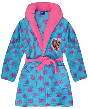 Disney Girls Princess Dressing Gown Ages 18 Months to 10 Years
