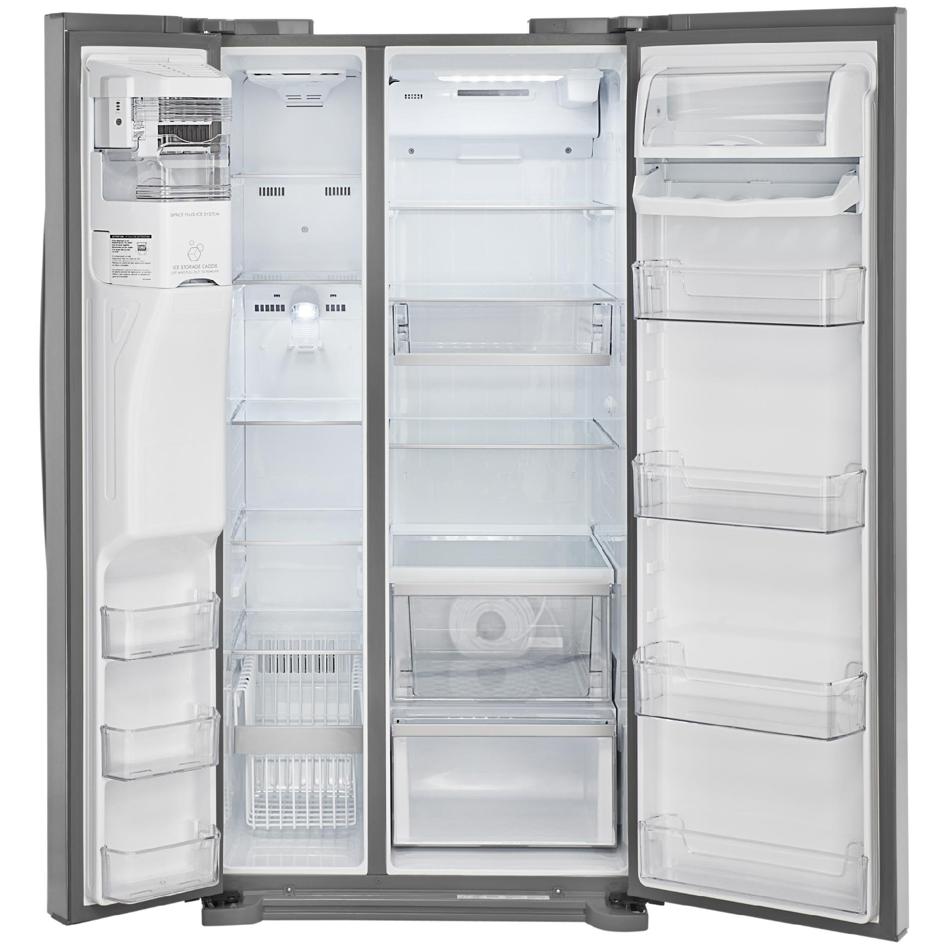 Kenmore Elite 51823 21.9 cu. ft. Side-by-Side Refrigerator in Stainless Steel, includes delivery and hookup (Available in select cities only) by Kenmore (Image #5)